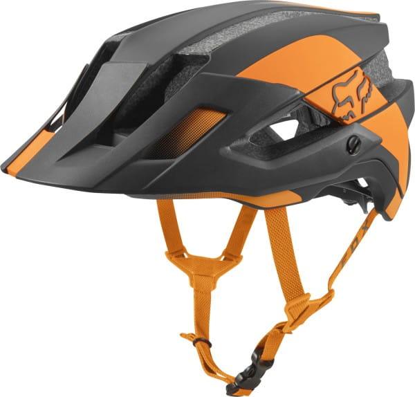 Flux Mips Conduit Helm - Atomic Orange