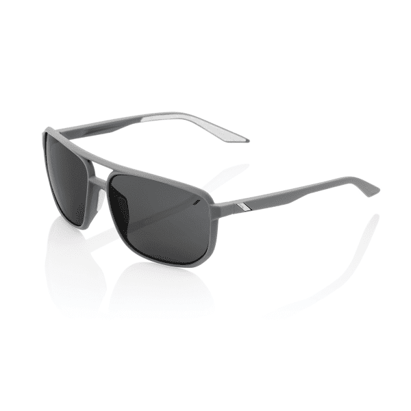 Konnor Aviator Square Sonnenbrille Smoke Lens - Dunkelgrau
