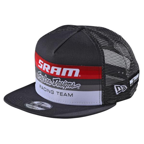 SRAM Racing Snapback Cap - Dunkelgrau