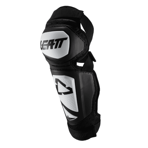 Knee Shin Protector 3DF Hybrid EXT - White