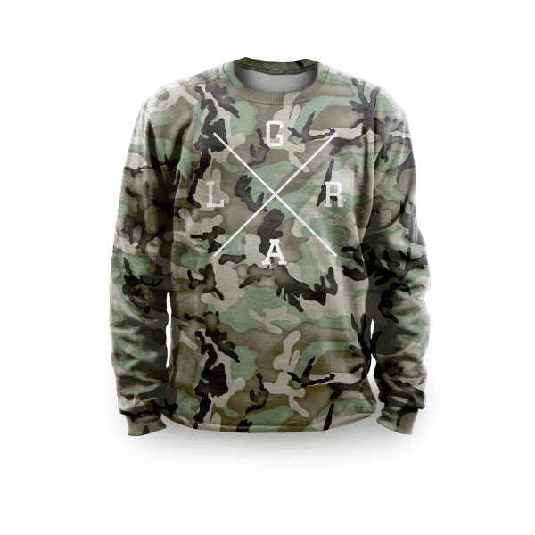 Sweater - Forest Camo