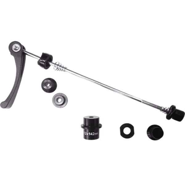 KICKR 12x142 quick-release / thru-axle adapter