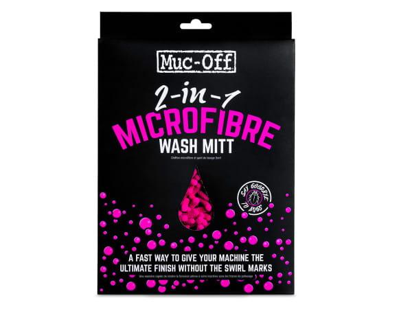 Microfibre Wash Mitt Waschhandschuh - pink