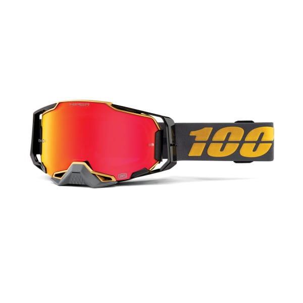 Armega Goggles Anti Fog - Grau/Gold - verspiegelt