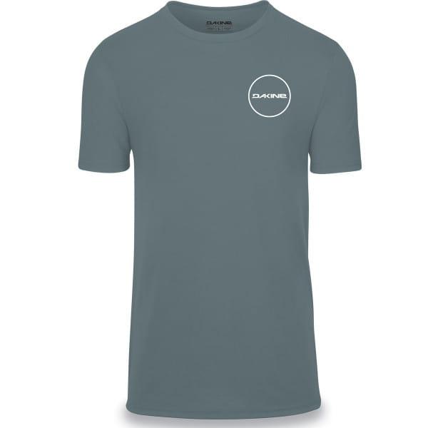 Team Player - Kurzarm Tech T-Shirt - Lead Blau