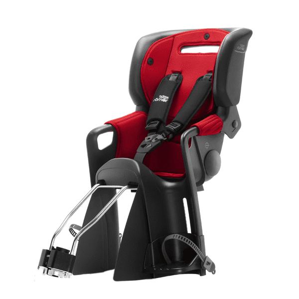 Jockey Comfort 3 Kindersitz - Schwarz/Rot Blau