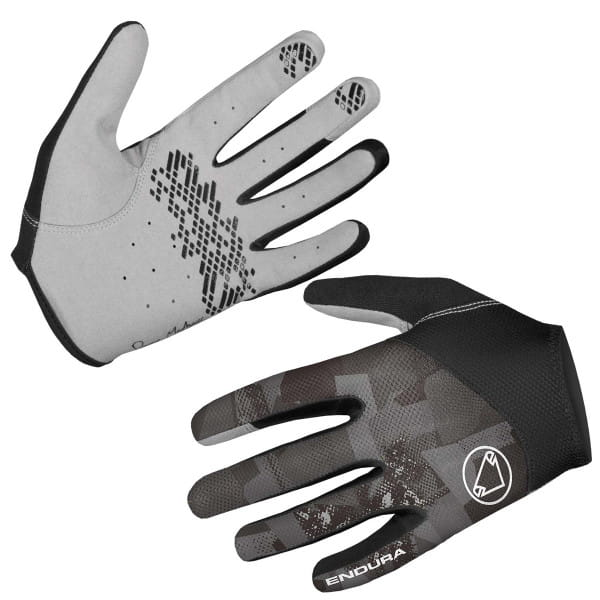 Hummvee Lite Handschuhe - Grau Camo
