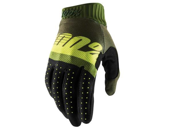 Ridefit Handschuh - Schwarz/Grün
