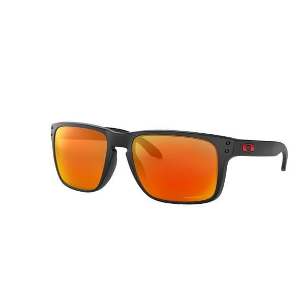 Holbrook XL Sonnenbrille Matt Schwarz - Prizm Ruby