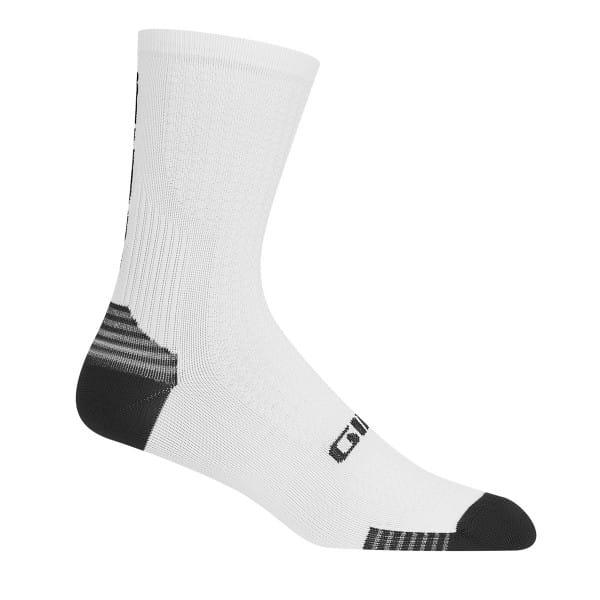 HRC + Grip Socken - Weiß/Schwarz
