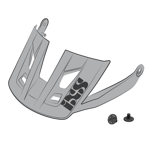 Ersatz Visier + Pins für Trigger AM - Grau