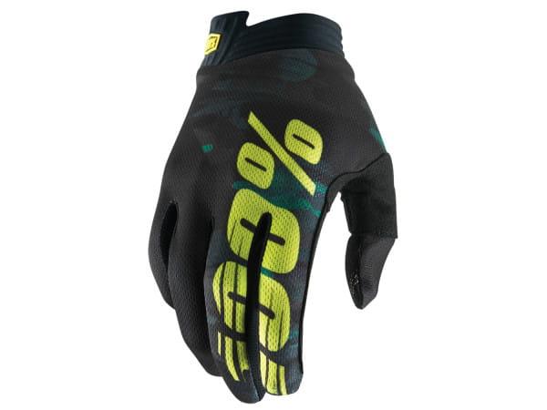 iTrack Youth Glove - Schwarz/Grün