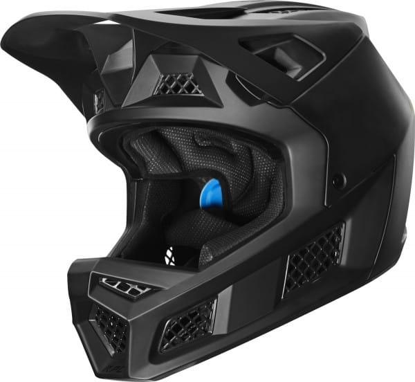 Rampage Pro Carbon Helm - Matt Schwarz