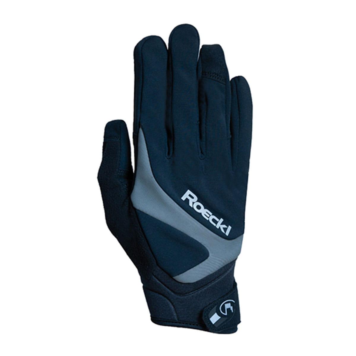 Roeckl Rhein Winter Fahrrad Handschuhe schwarz//grau 2020