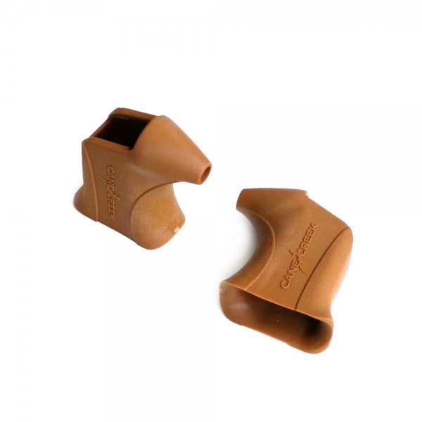 Ersatzgummiüberzüge für Bremshebel - Braun