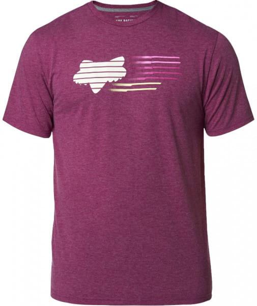 Lightspeed Head Tech T-Shirt - Rot