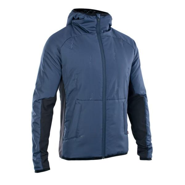 Padded Hybrid Shelter PL - Lined Softshell Jacket - Blue