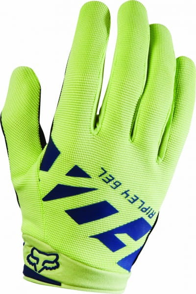 Womens Ripley Gel Handschuhe - Navy/Yellow