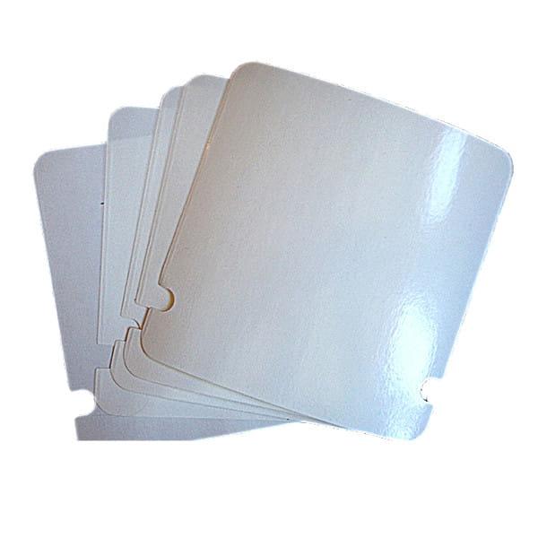 Klebefolien für Numberboard - Weiß