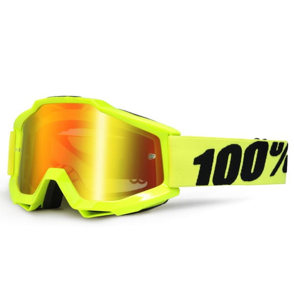 Accuri MX Goggle - Fluo Yellow