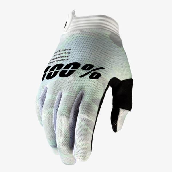 iTrack Glove - Weiß/Camo