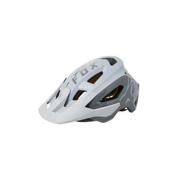 Speedframe Pro - MIPS MTB Helm - Weiß/Silber