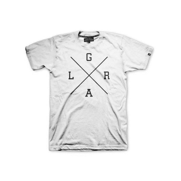 Collegiate T-Shirt X Logo - Weiß