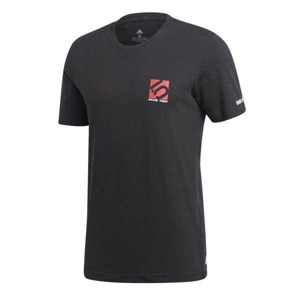 5.10 Logo T Shirt - Schwarz