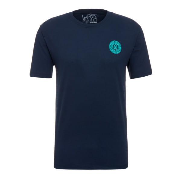 Explore T-Shirt - Blau