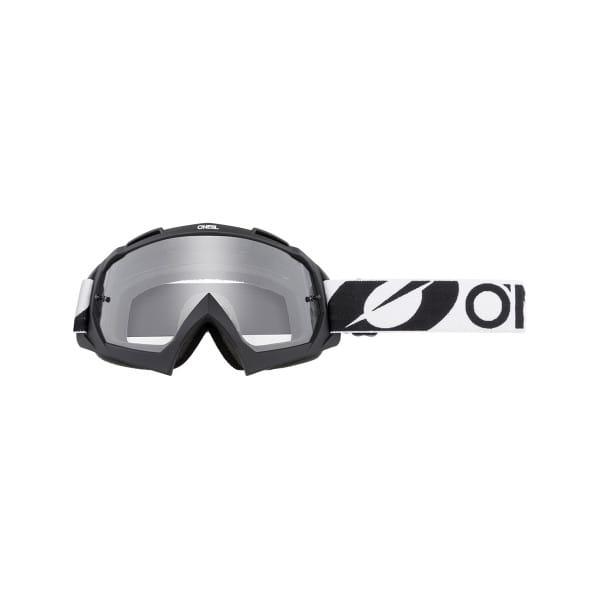 B-10 Twoface - Klar - Goggle - Schwarz