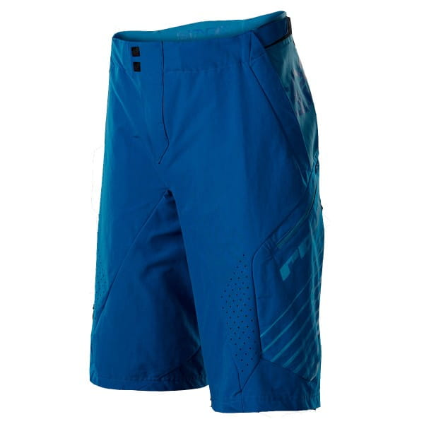 Stage Shorts - navy/electric blue