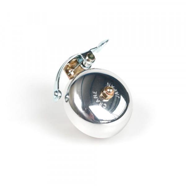 Suzu Klingel - Lenkerklemmung - Silber poliert