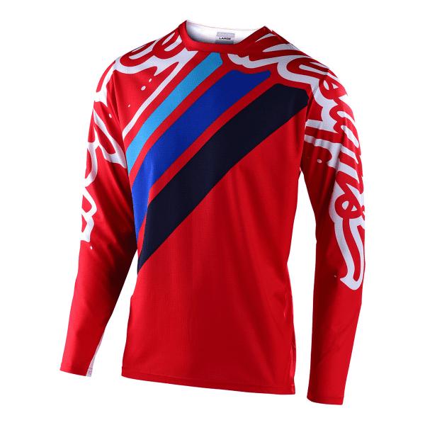 Sprint Jugend Trikot - Rot/Blau