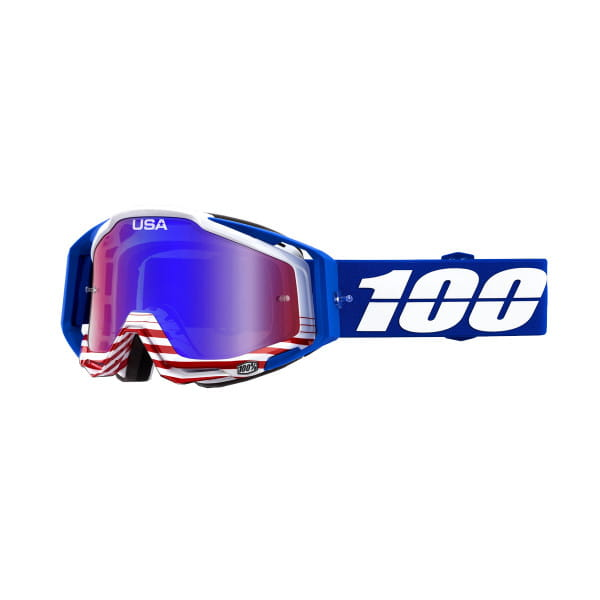 Racecraft Goggle Anti Fog Mirror Lens - Anthem