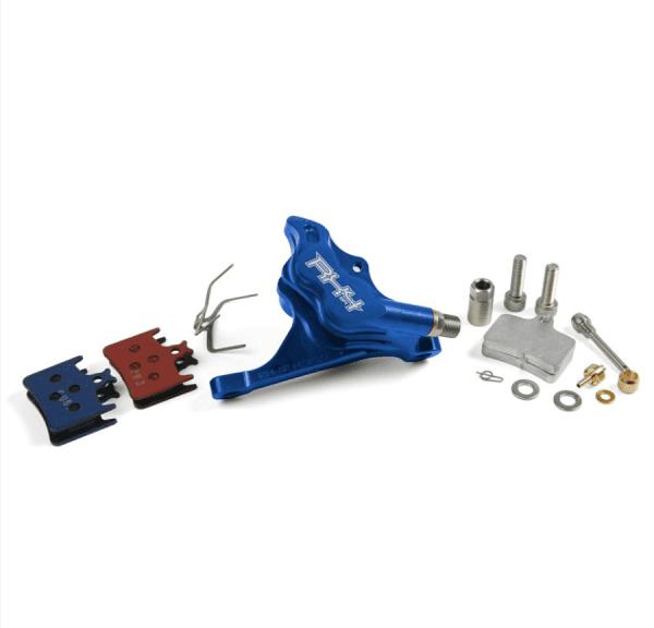 RX4 Bremssattel Flatmount Complete vorn - Sram - Blau