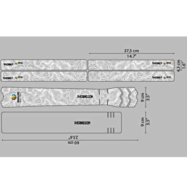 Rahmenschutz Kit - Enduro World Series White