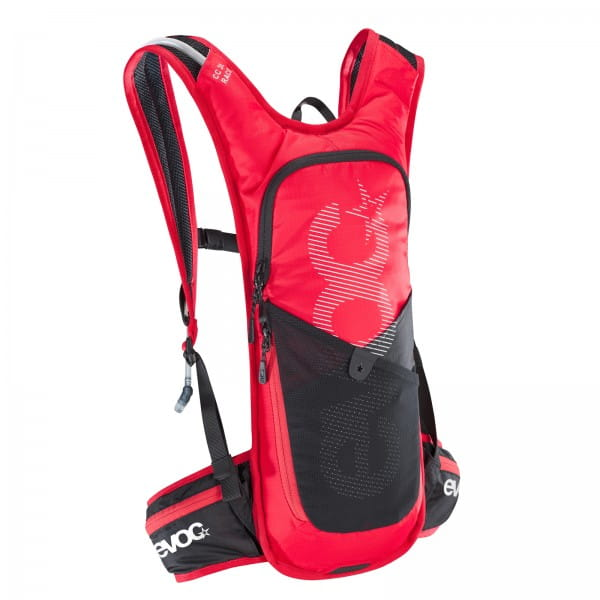 CC 3L Race Rucksack + 2L Bladder - Red/Black