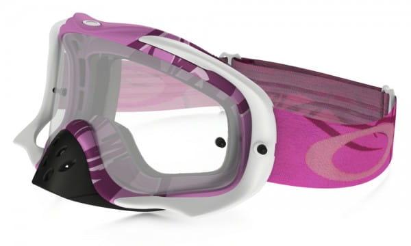 Crowbar MX Goggle  - Razorwire Pink/Rose w/Clear