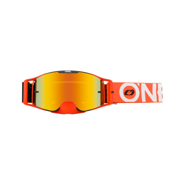 B-30 Bold - Radium Rot - Goggle - Schwarz/Orange