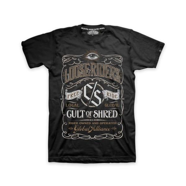 """T-Shirt """"Whiskey"""" - Schwarz"""