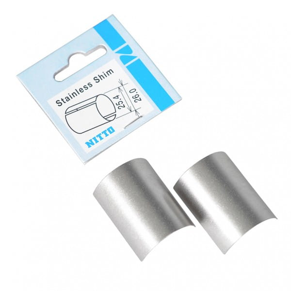Reduzierhülsen aus Edelstahl 26.0 auf 25.4mm