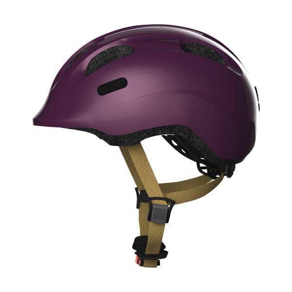 Smiley 2.0 - Kinderhelm - Royal Purple