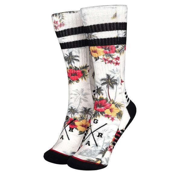 """Socken """"Uluwatu"""" - Weiß/Multi"""