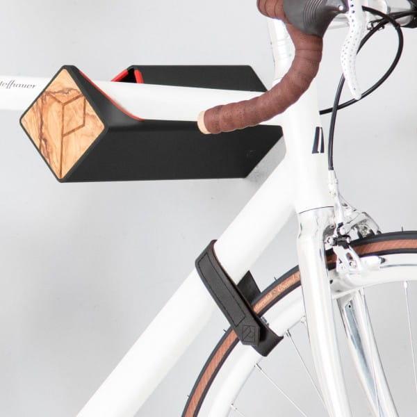 D-Strap leather straps - M - black