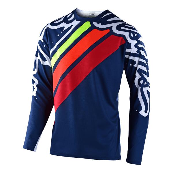 Sprint Jugend Trikot - Blau/Rot