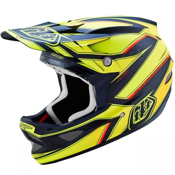 D3 Fullface Helm Reflex Carbon Yellow