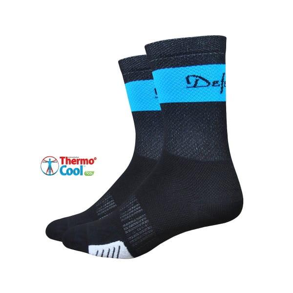 Cyclismo Socken - Thermocool -  Schwarz/Blau