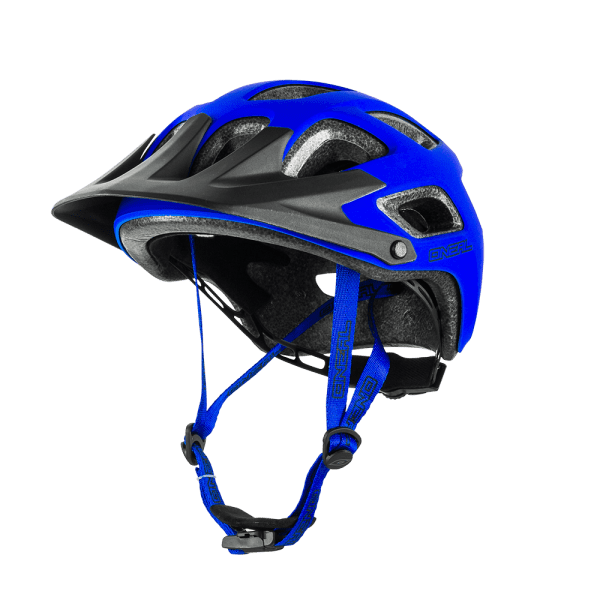 Thunderball Solid Helm - Youth - matte blue