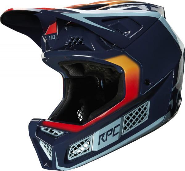 Rampage Pro Carbon Daiz Helm - Dunkelblau