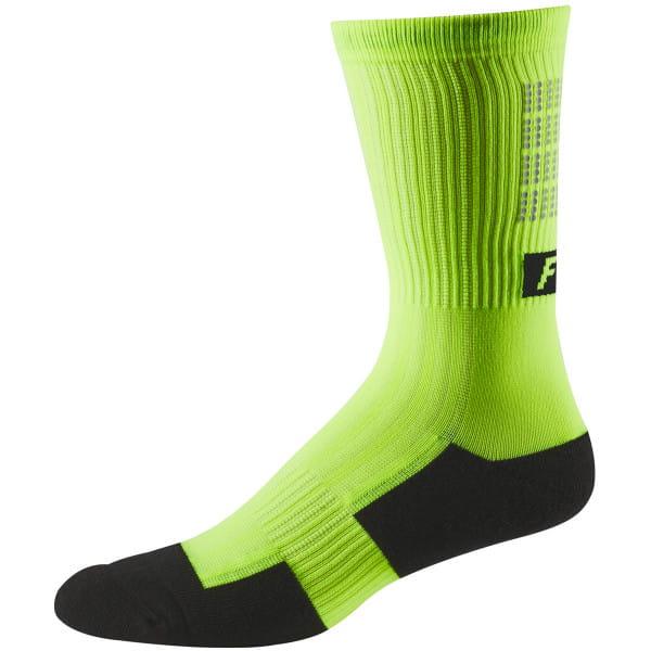"8"" Trail Cushion Socken - Schwarz/Gelb"